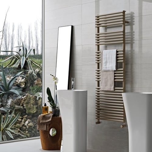 Tubes Basics 25 Towel Rail - 1195 High 1