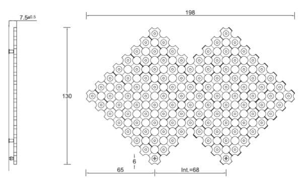 Tubes Add On Radiators - Free Shape L3 1300x1980 2