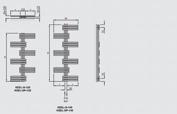 Zehnder Keel Symmetrical 4