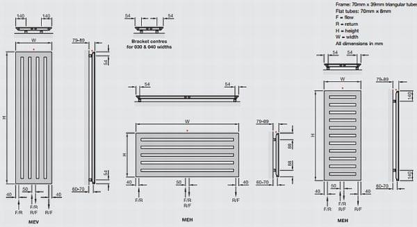 Zehnder Metropolitan Vertical 4