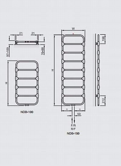 Zehnder Nobis Towel Radiator 3