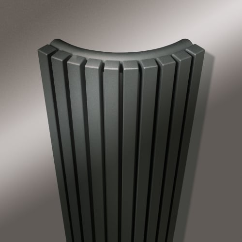 Vasco Carre Quater Round radiator 1