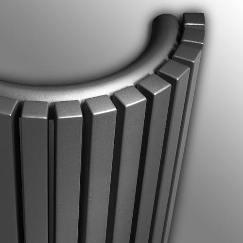 Vasco Carre Half Round radiator 2