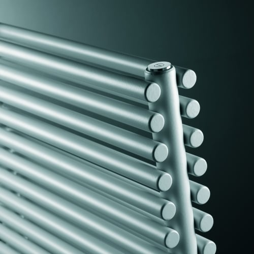Vasco Agave Straight Bathroom Radiator - Double - White/Colours 2