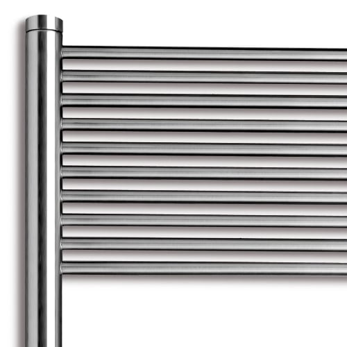 Vasco Malva Straight Radiators - Stainless Steel 3