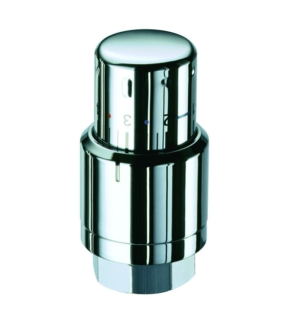 TRV Series B - Corner - RIGHT hand flow - CHROME 3