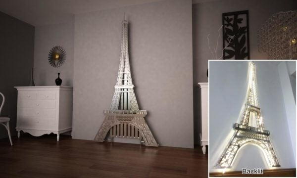 Eiffel Tower Radiator 3