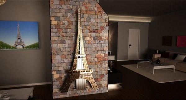 Eiffel Tower Radiator 4