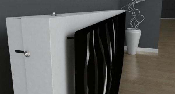 Zebra Radiator Cover 3