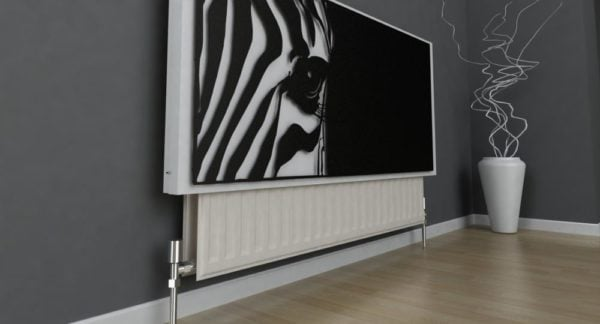 Zebra Radiator Cover 4