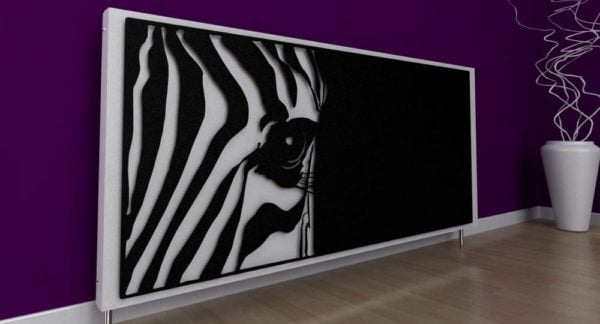 Zebra Radiator Cover 6