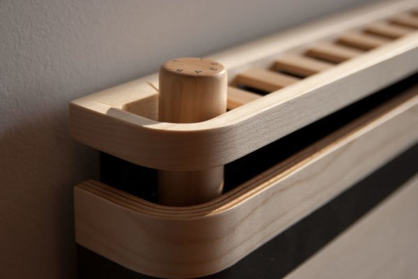 Alpha Prestige Wooden Radiator - 120mm Depth 9