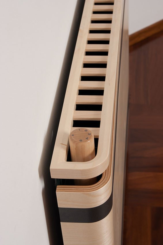 Alpha Prestige Wooden Radiator - 120mm Depth 11