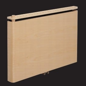 Alpha Simple Wooden Radiator - 70mm Depth 5