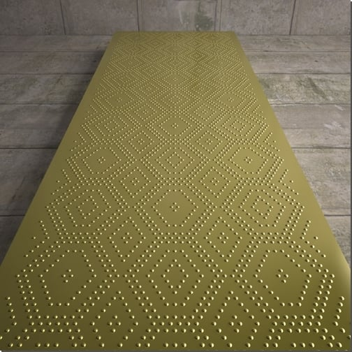 Mosaico Designer Radiator - 1640, 1800 & 1960mm High Versions 2