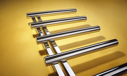 Bisque Chime Towel Radiator 2