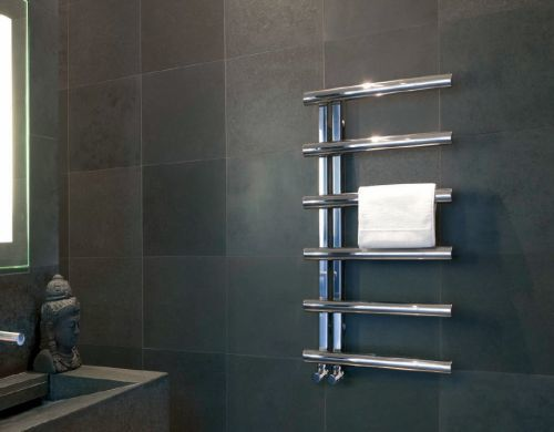 Bisque Chime Towel Radiator 3