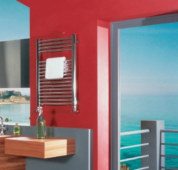Bisque Deline Towel Warmer 2