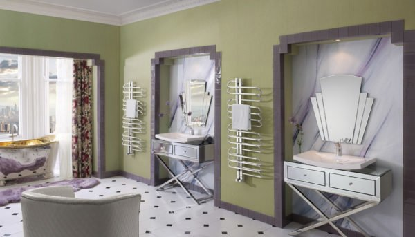 Bisque Orbit Towel Radiator 3