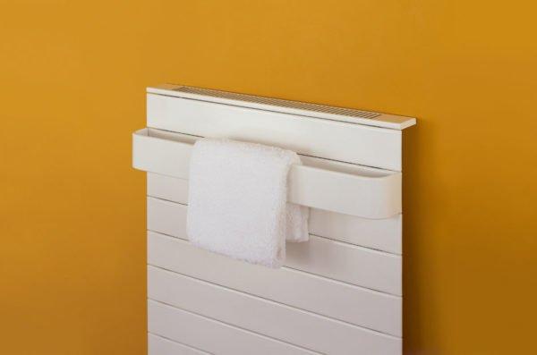 Bisque Decorative Panel - Towel Warmer 1