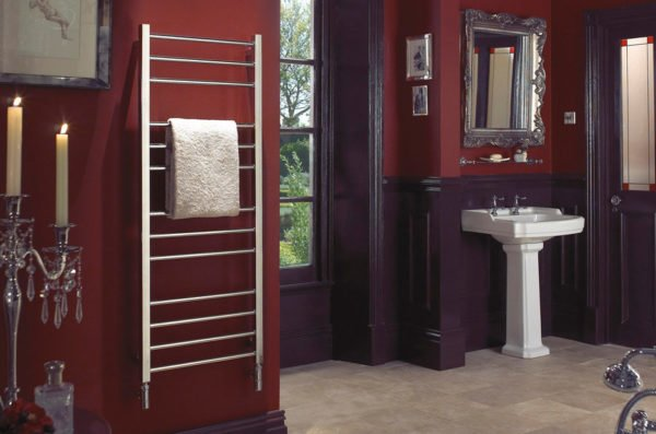 Bisque Olga Towel Radiator 1