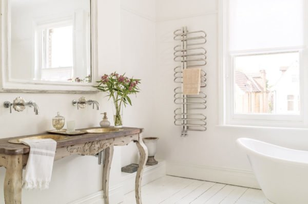 Bisque Orbit Towel Radiator 5