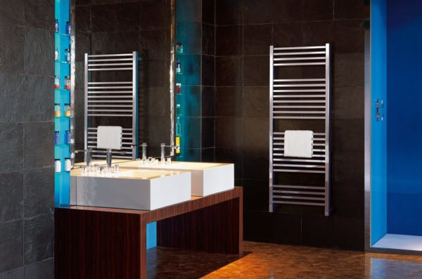 Bisque Quadrato Towel Radiator 4