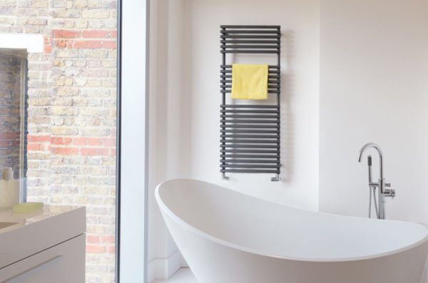 Bisque Straight Fronted Towel Radiator 6