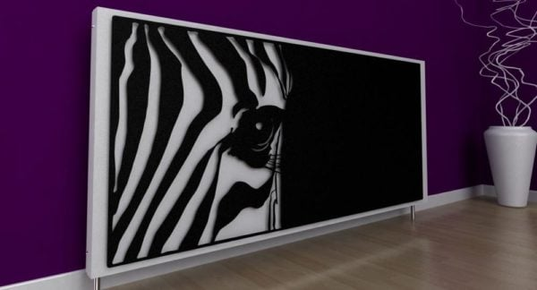 Zebra Radiator Cover 1