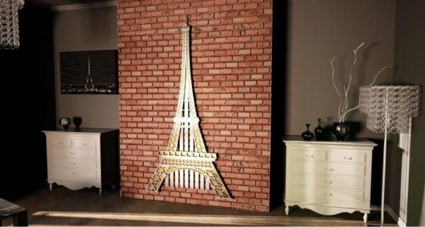 Eiffel Tower Radiator 1
