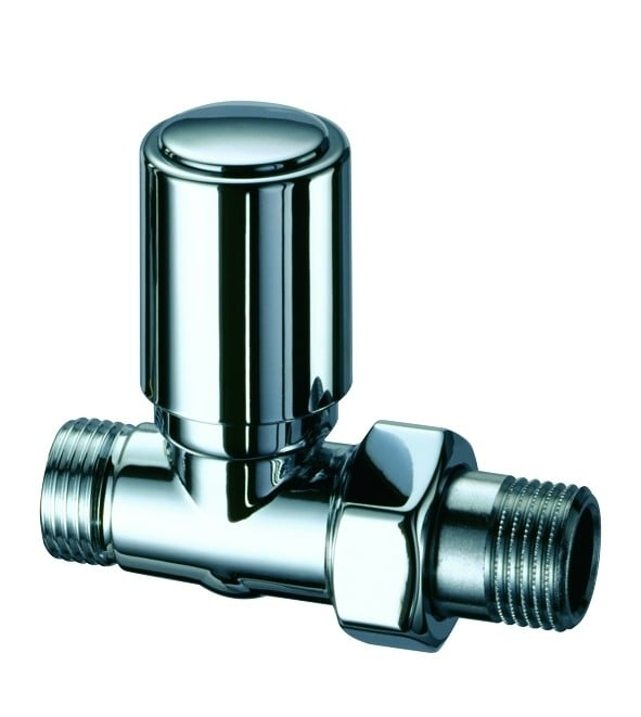 Eskimo Manual Valve - Series C - Straight - CHROME 1
