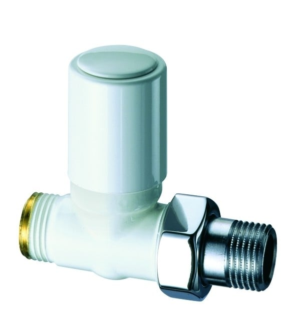 Eskimo Manual Valve - Series C - Straight - WHITE 1
